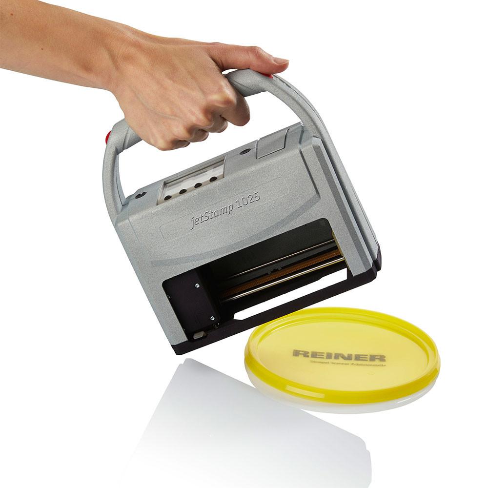Reiner 1025 Druck auf Kunststoff